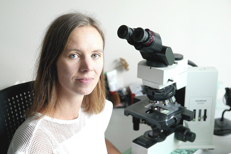 Valstybinio patologijos centro (VPC) gydytoja patologė 31 metų Rūta Barbora Grinevičiūtė