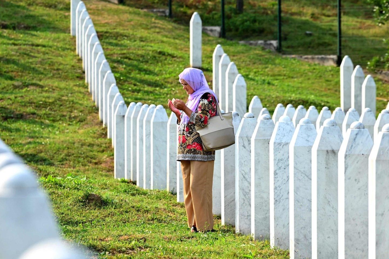 JT įgaliotinis uždraudė neigti genocidą Bosnijoje.<br>AFP/Scanpix nuotr.