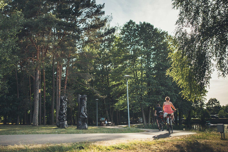 Druskininkų dviračių takai.<br>Druskininkai.lt nuotr.