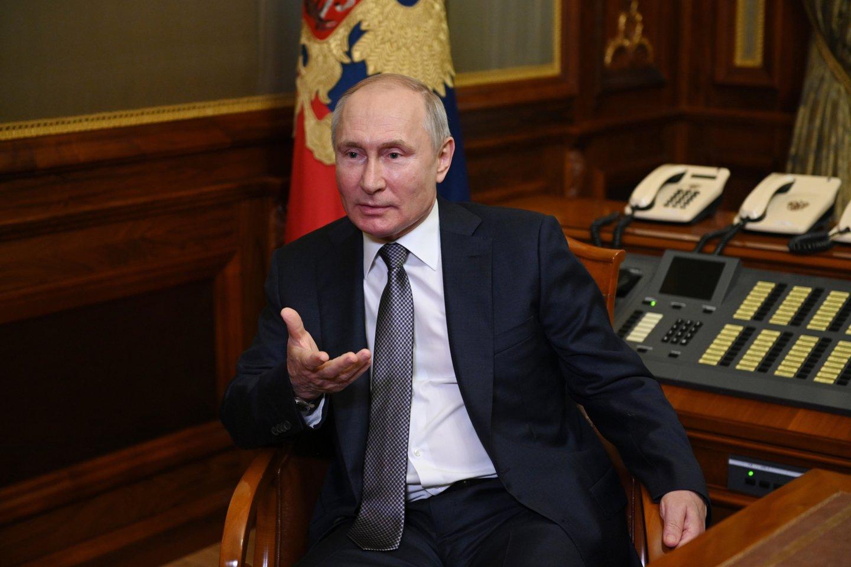 """Rusija paskelbė naujienų portalą """"The Insider"""" """"užsienio agentu"""".<br>AP/Scanpix nuotr."""