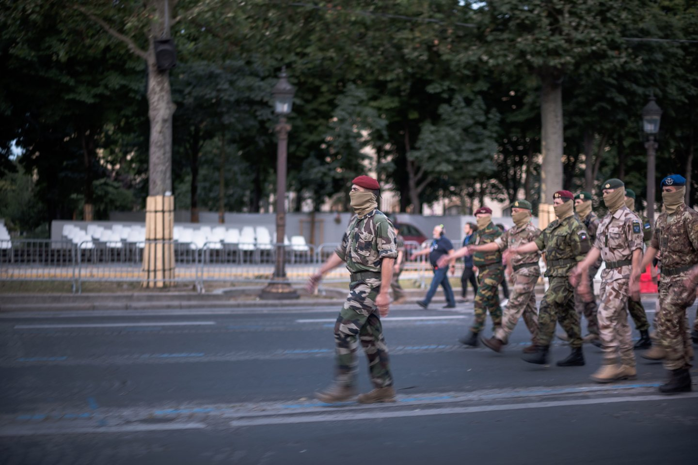 """Malyje du """"Islamo valstybės"""" vadeivos žuvo per Prancūzijos pajėgų smūgius.<br>NICOLAS NICOLAS MESSYASZ/SIPA nuotr."""
