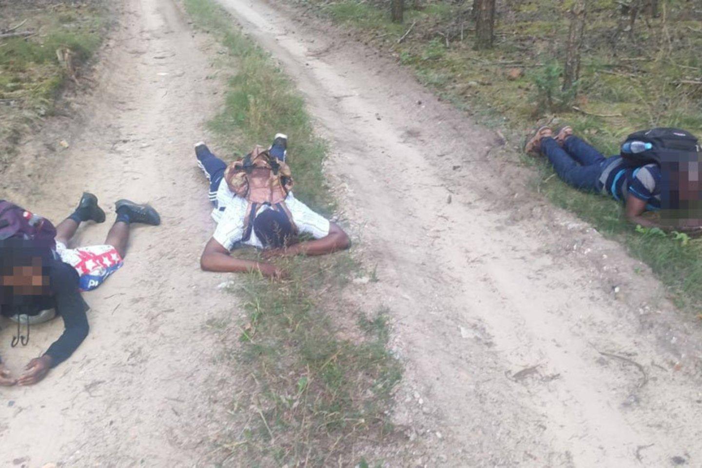 Paaiškino, kaip galima išprašyti nelegalius migrantus iš Lietuvos: baiminasi juodžiausio scenarijaus.<br>VSAT nuotr.