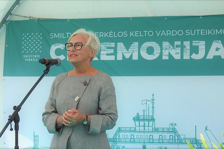 Lietuvos jūrų muziejaus direktorė Olga Žalienė.<br>G.Pilaičio nuotr.
