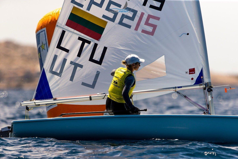 """V.Andrulytė jau gerai pažįsta Japoniją, tačiau pabrėžė, kad iššūkiu taps ne tik kaitra.<br>""""Sail Energy"""" nuotr."""