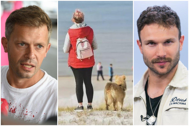 Šunys paplūdimyje – gerai ar blogai? Pasisakė ir V. Baumila bei A. Tapinas.<br>Lrytas.lt koliažas