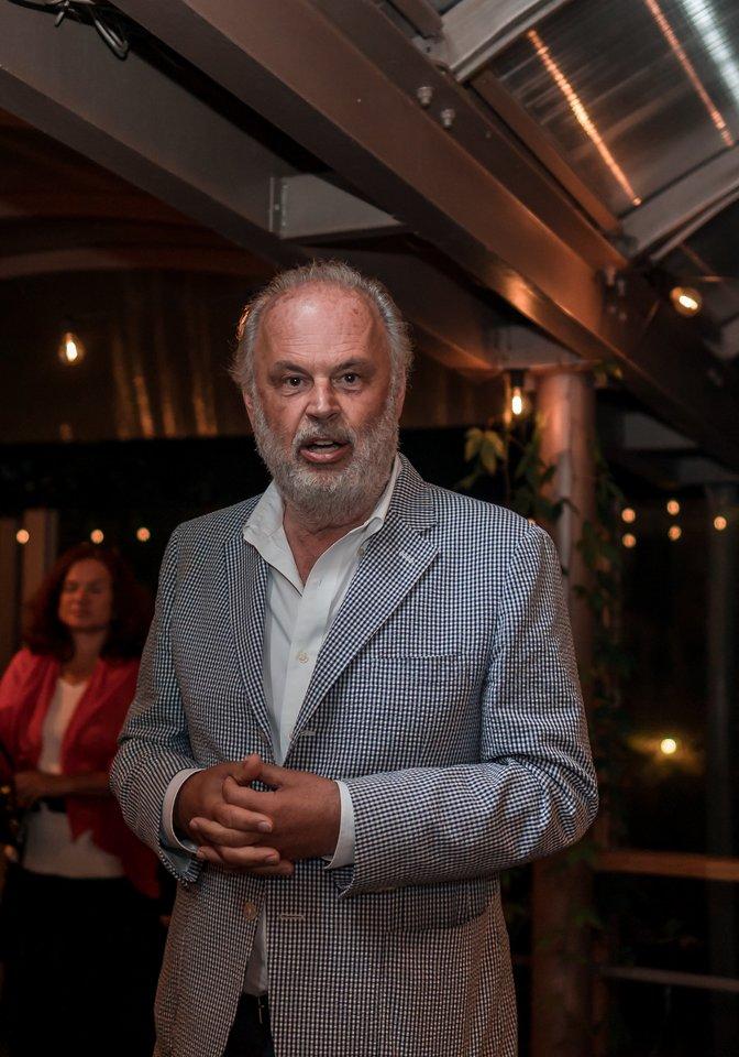 Festivalio meno vadovas švedas M.Engstroemas.<br>Rengėjų nuotr.