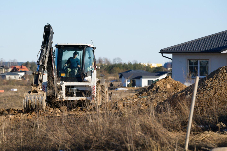 Būsimos statybos aplinkiniams gyventojams dažnai sukelia nepagrįstą apetitą.<br>V.Skaraičio nuotr.