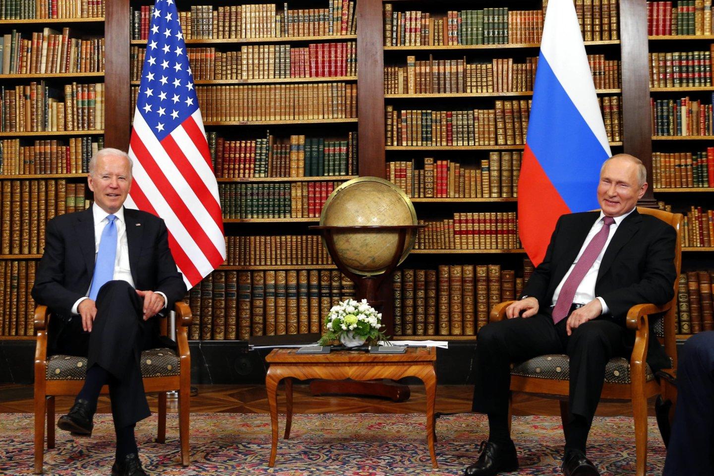 JAV ir Rusija kitą savaitę rengia aukšto lygio derybas, siekdamos paskatinti stabilumą savo įtemptuose santykiuose, penktadienį pranešė pareigūnai. <br>Imago/Scanpix nuotr.