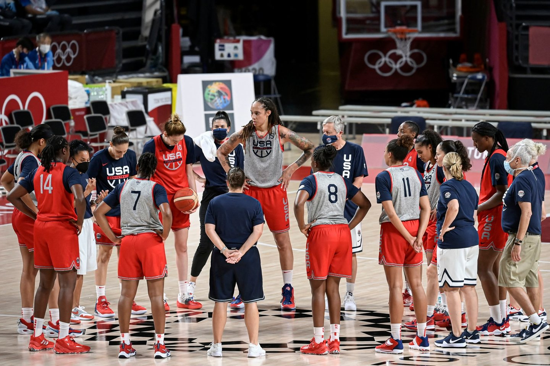 JAV moterų komanda - aiški favoritė.<br>AFP/Scanpix nuotr.