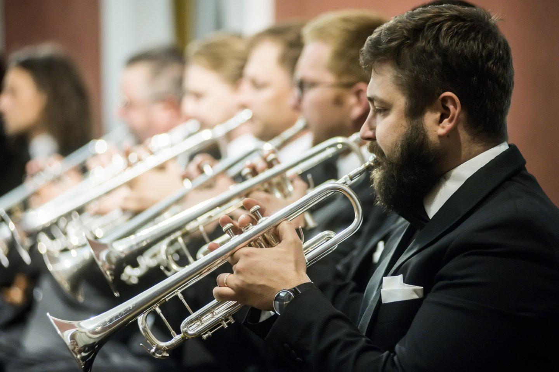 "J.S.Bachą""Trimitui"" diriguos K.Variakojis.<br>D.Matvejevo nuotr."