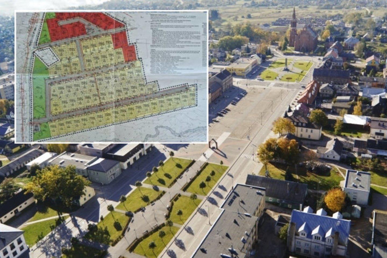 Puikioje strateginėje vietoje esantis žemės plotas jau kitąmet taps privačių namų kvartalu.<br>Ž Jasiulionio ir E. Černiausko nuotr.