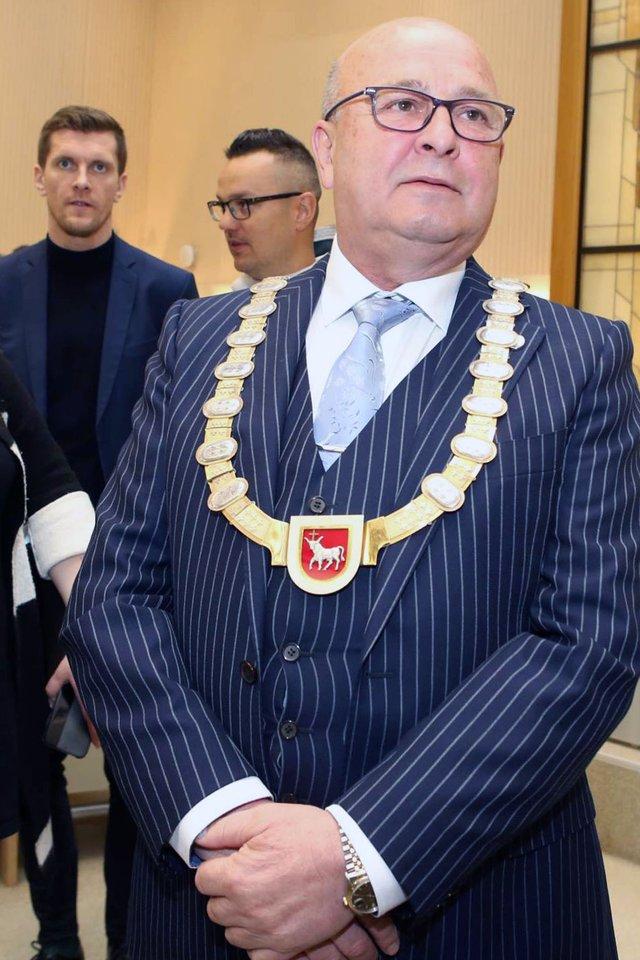 Kauno meras Visvaldas Matijošaitis.<br>M.Patašiaus nuotr.