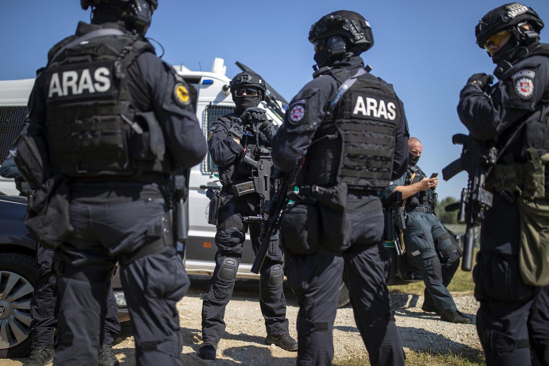 Dėl plūstančių pabėgėlių Lietuva susiduria su iki šiol nematytais iššūkiais.<br>AP/Scanpix nuotr.