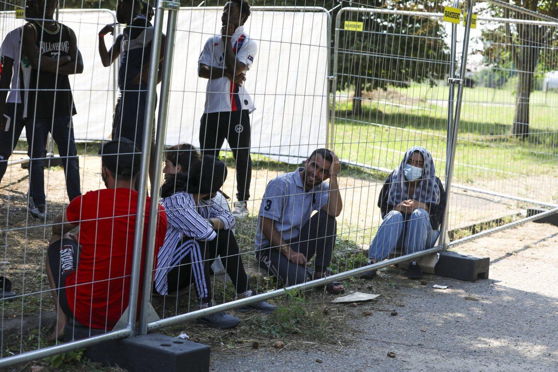 Ministerijai kol kas nepavyksta įtikinti Dieveniškių gyventojų dėl nelegalių migrantų.<br>M.Morkevičiaus/ELTA nuotr.
