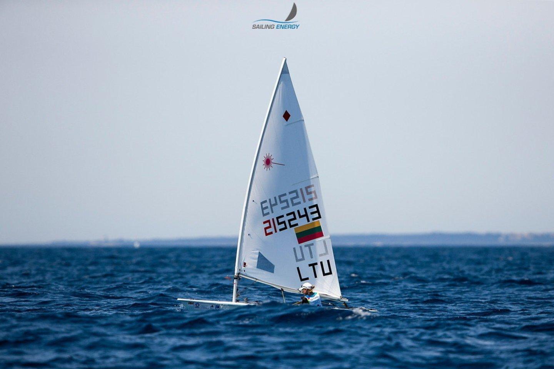 V.Andrulytė pradėjo olimpines kovas.<br>LTOK nuotr.