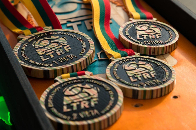 Lietuvoje pirmasis riedlenčių čempionatas buvo surengtas 2018 metais.<br>A.Jendovickio nuotr.