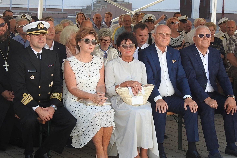Jūrininkų šventės svečiai.<br>G.Pilaičio nuotr.