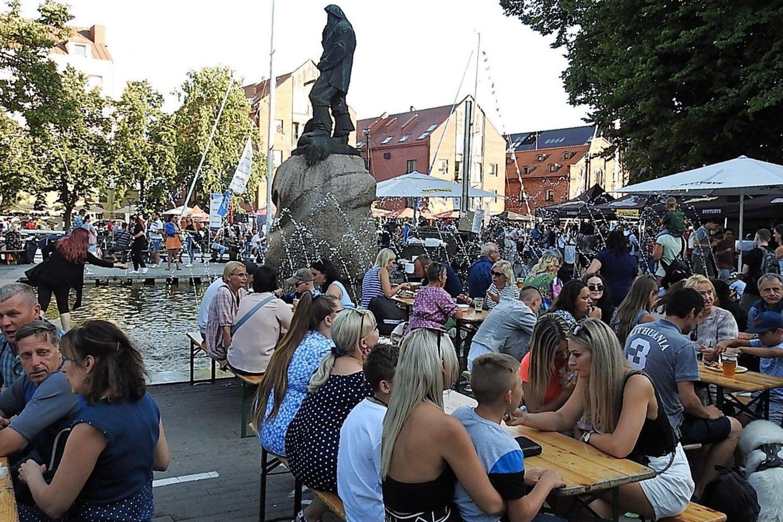 Jūros šventė Klaipėdoje.<br>G.Pilaičio nuotr.