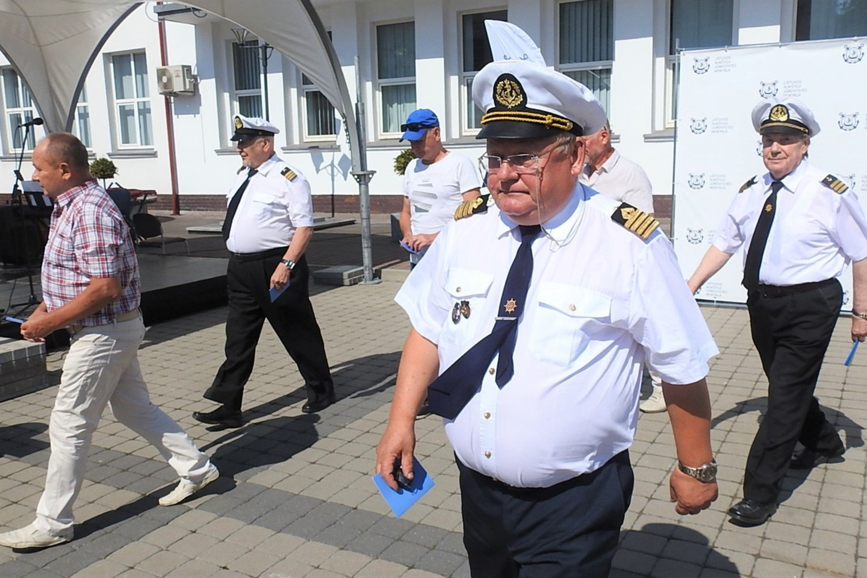 Antivakseriai jūrininkų neišmušė iš vėžių.<br>G.Pilaičio nuotr.