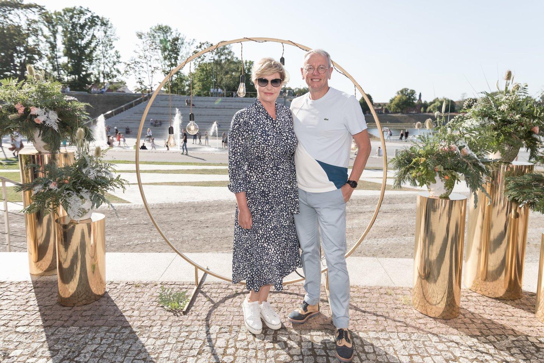 Rolanda Lingienė ir Fredericas Pauma.<br>Organizatorių nuotr.