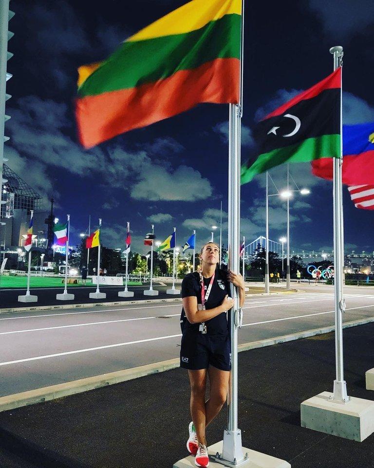 Tokijo olimpiados metu daugybės žmonių žvilgsniai nukrypo į geriausius pasaulio atletus. Jų sąraše – ir tinklininkė Indrė Sorokaitė.
