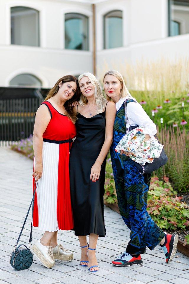 Svajūnė Marcinkevičienė, Eglė Jackaitė ir Indrė Reimorienė.<br>Organizatorių nuotr.