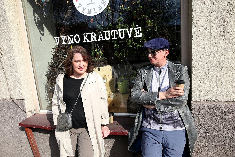 Laura Kreivytė ir Aleksandras Pogrebnojus.<br>R.Danisevičiaus nuotr.