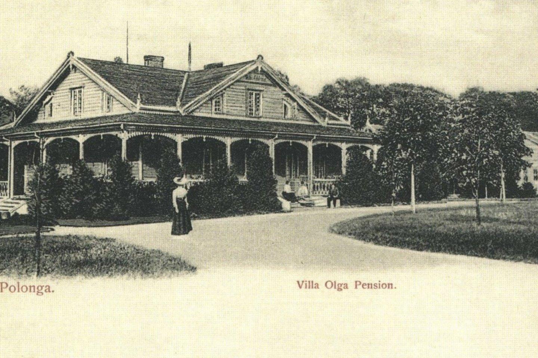 """Vila """"Aldona"""".<br>Palangos Turizmo informacijos centro nuotr."""