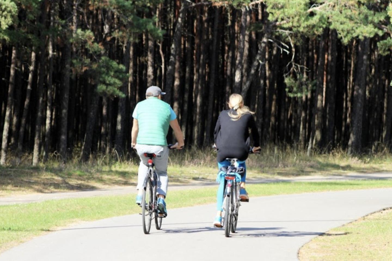 Išvystyta patogi dviračių infrastruktūra.<br>Palangos Turizmo informacijos centro nuotr.