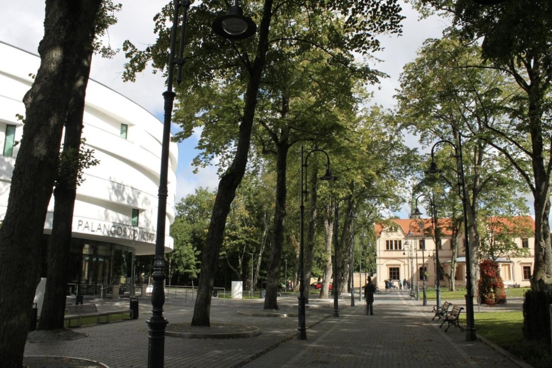 Grafų Tiškevičių alėja.<br>Palangos Turizmo informacijos centro nuotr.