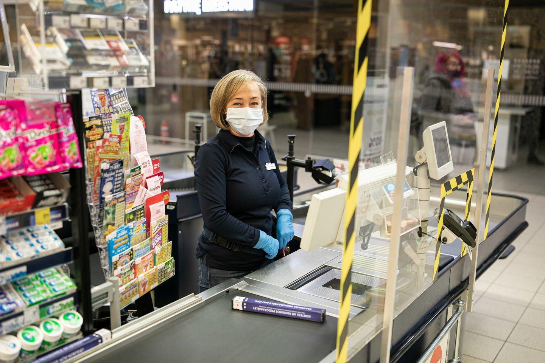 """Pirmąjį pusmetį """"Maximos"""" darbuotojų atlyginimai augo dešimtadaliu.<br>Pranešimo autorių nuotr."""