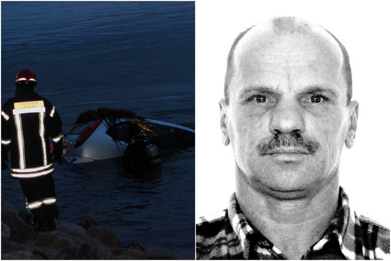 Kėdainių rajone sekmadienį iš vandens telkinio ištrauktas automobilis su mirusio vyro kūnu. Artimieji iš drabužių atpažino G.Nekrošių.<br>Lrytas.lt koliažas