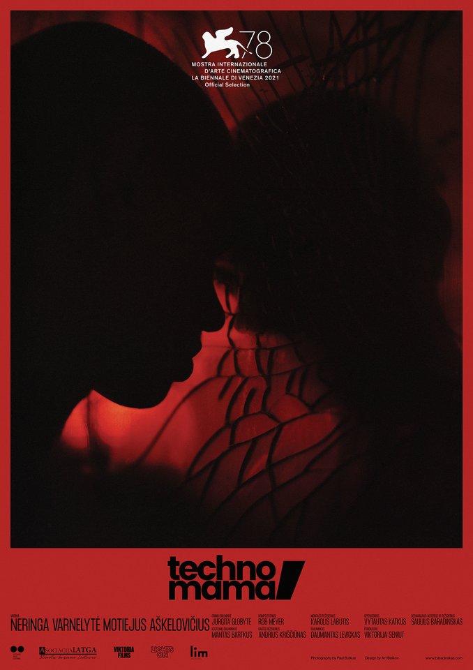 "Filmo ""Techno, Mama"" plakatas."