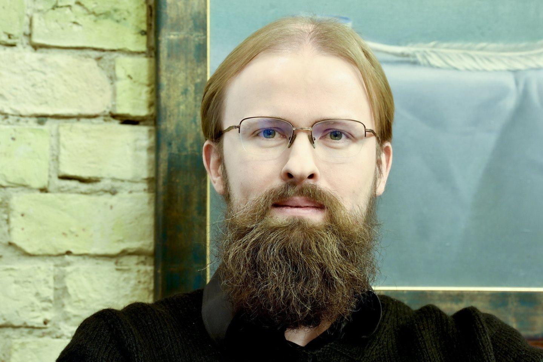 Vilniaus universiteto Fizikos fakulteto docentas, astrofizikas dr. Kastytis Zubovas.<br>V.Ščiavinsko nuotr.