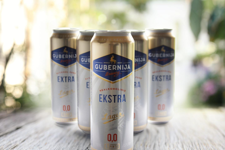 """Atnaujintos nealkoholinio """"Gubernijos"""" alaus pakuotės."""