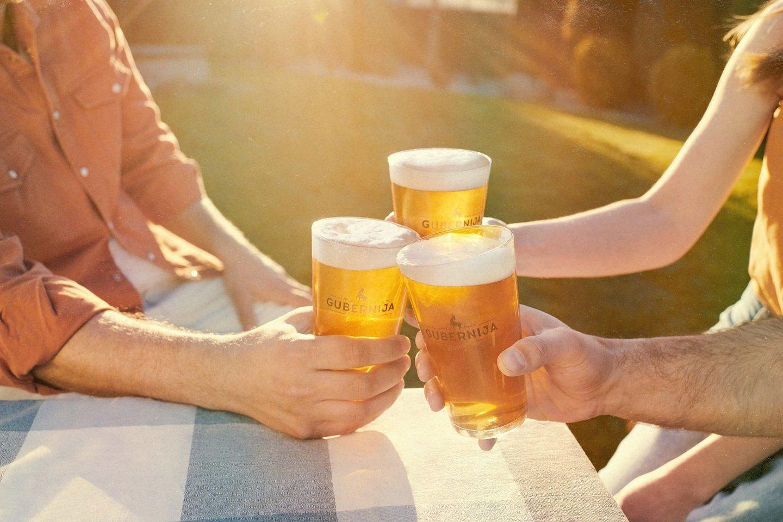"""""""Gubernija"""" atnaujino nealkoholinį alų."""