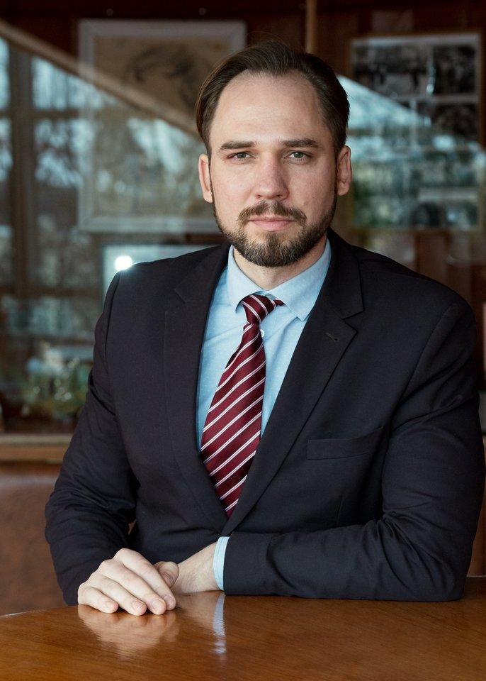 LNOBT generalinis direktorius Jonas Sakalauskas.<br>LNOBT nuotr.
