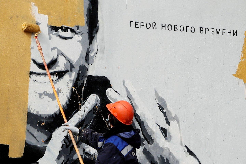 Rusijoje lieka vis mažiau vietos opozicijai. (Asociatyvi nuotr.)<br>Reuters/Scanpix nuotr.