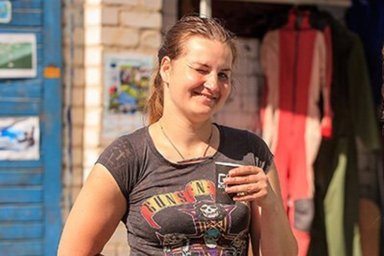 J.Grubinskaitė įsitikinusi, kad kiekvienas gyvenime renkasi tai, dėl ko jaučiasi laimingas.<br>Šiaulių parašiutininkų klubo nuotr.