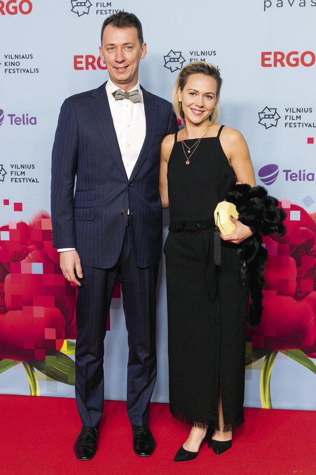Vytautas Kernagis ir Rima Kernagienė.<br>LR archyvo nuotr.