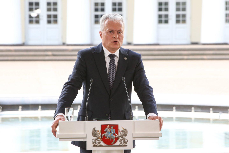 G.Nausėda stengiasi būti aktyvus vidaus politikoje, tačiau retai sulaukia palaikymo iš Seimo.<br>R.Danisevičiaus nuotr.
