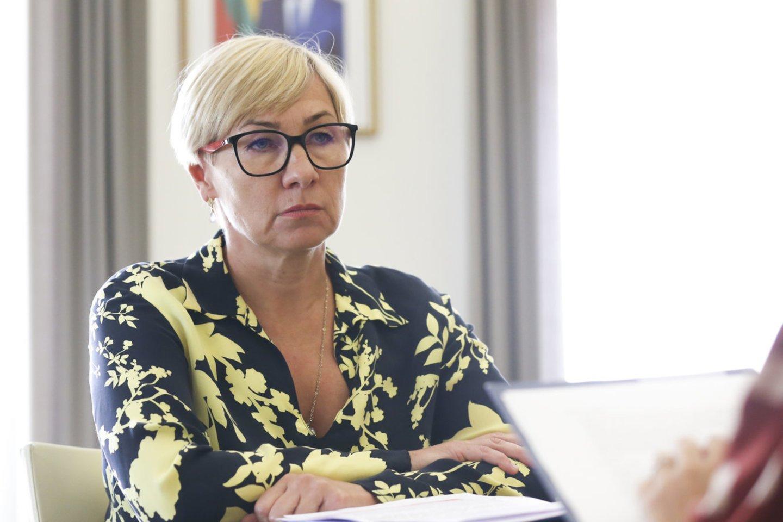 Švietimo, mokslo ir sporto ministrė J.Šiugždinienė.<br>M.Morkevičiaus/ELTA nuotr.