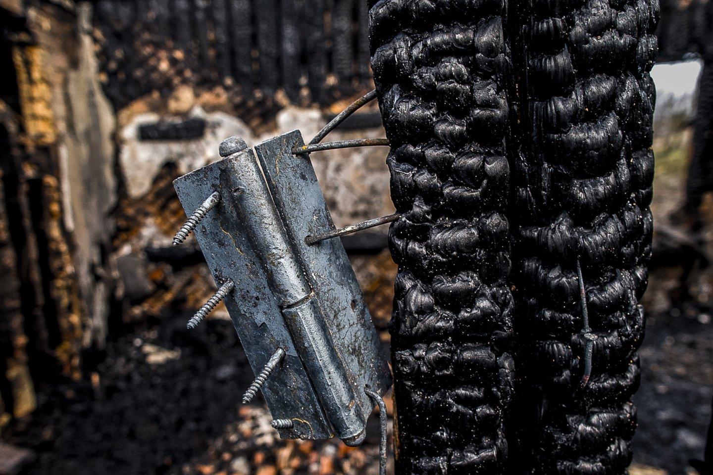 Per gaisrą Varėnos rajone žuvo vyras.<br>V.Ščiavinsko asociatyvi nuotr.