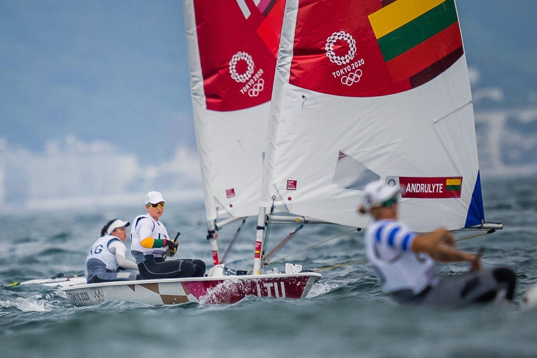 Viktorija Andrulytė bendroje įskaitoje užima 26-ąją vietą.<br>V.Dranginio/LTOK nuotr.