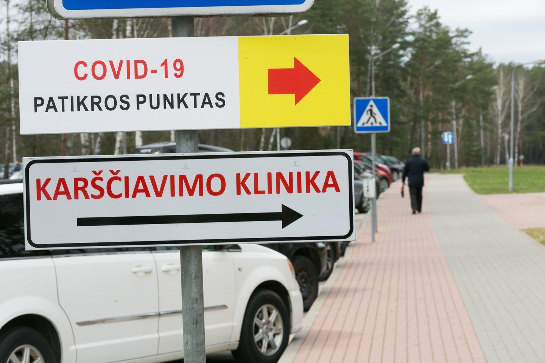 Koronavirusas Lietuvoje<br>T.Bauro nuotr.