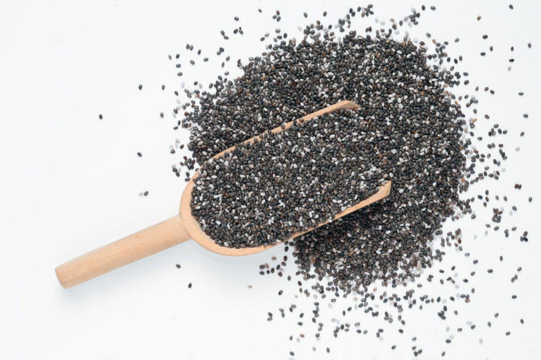 Ispaninių šalavijų sėklos turi daugiau polinesočiųjų rūgščių omega-3, kurios naudingos širdžiai, paspartina medžiagų apykaitą.<br>123rf nuotr.