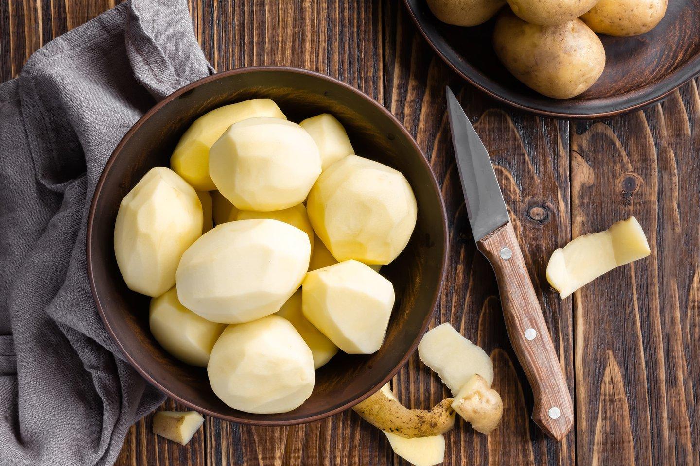 Bulvėse gausu mineralų, įvairių vitaminų ir kitų maisto medžiagų.<br>123rf nuotr.
