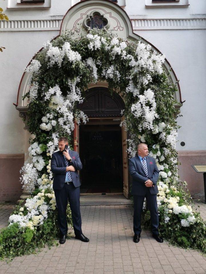 Lauryno Suodaičio ir Viktorijos Siegel vestuvės.<br>R.Danisevičiaus nuotr.