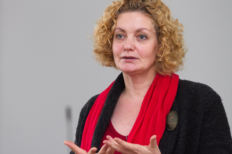 Lyčių lygybės ekspertė Margarita Jankauskaitė.<br>V.Valentinavičiaus nuotr.