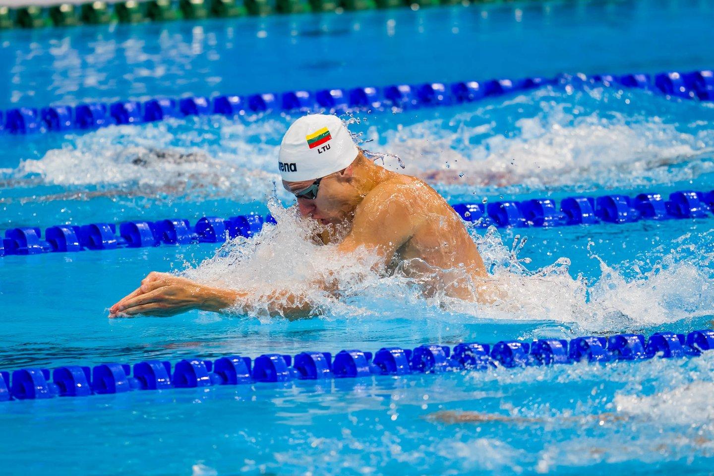 A.Šidlauskas Tokijo žaidynėse parodė didelį progresą.<br>K.Štreimikio/LTOK nuotr.